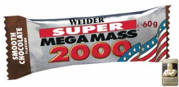 WEIDER Mega Mass 2000 Bar Display (24 Stück)