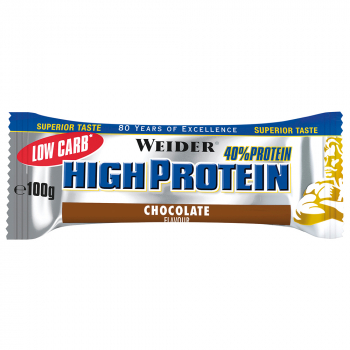 WEIDER Low Carb High Protein Bar 100g