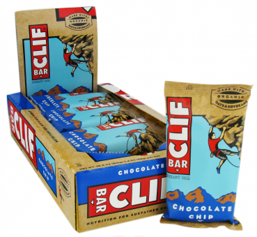 Clif Bar Energy Riegel Vegan Disyplay 12 Stück 68g