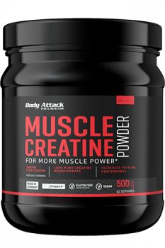 BODY ATTACK Muscle Creatine Powder