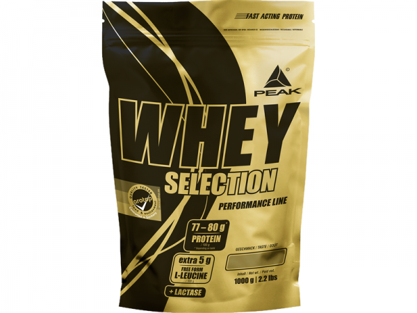 PEAK Whey Selection 1kg