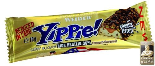 weider yippie protein bar
